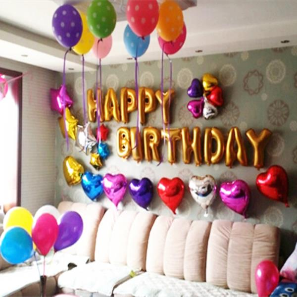 """Birthday Balloons"" for all ages in many different designs, to create the party atmosphere in any venue.  - by Balloon Decorators 