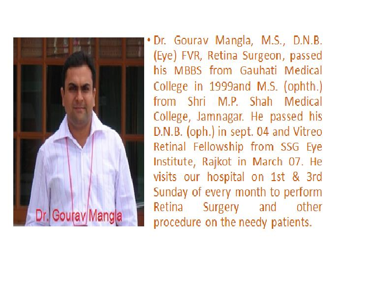 Surgeons - by Dr Praveen Eye Hospital & Research Centre, Sirsa