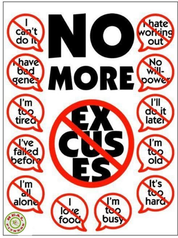 Excuses don't burn FAT GYM will do Join us for more information...