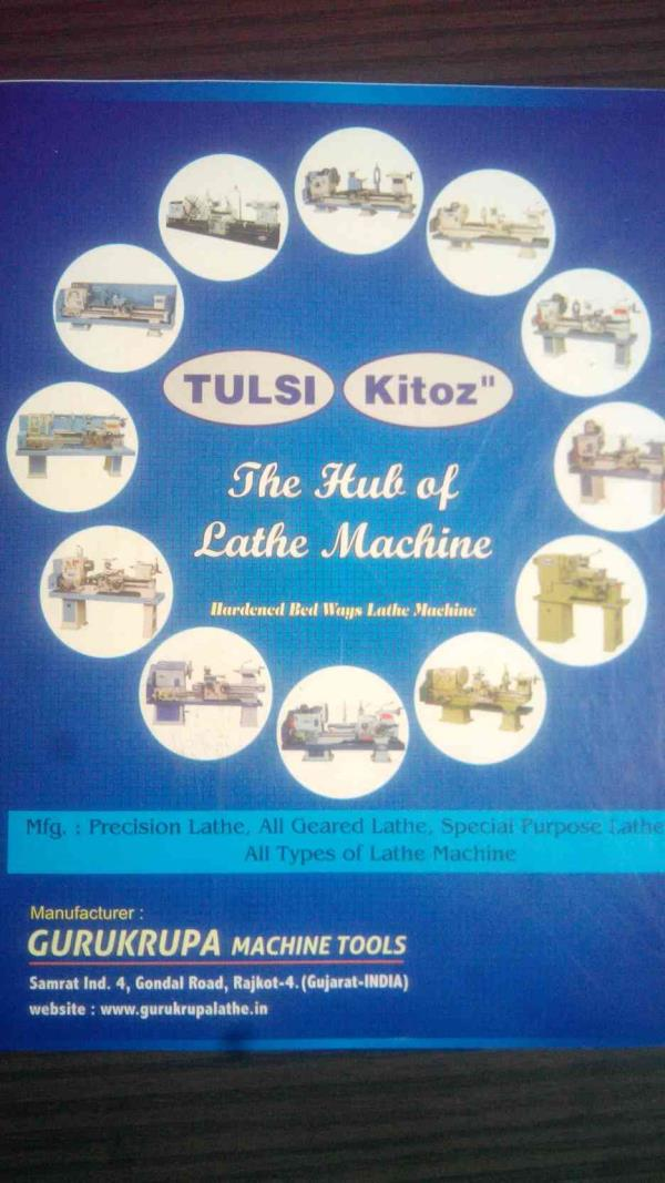 All Type Of Lathe Machine Manufacturers in Rajkot Like Heavy Duty Lathe Machine Manufacturer, Precision Lathe Manufacturers, Special Purpose Lathe Manufacturers, All Graded Lathe Manufacturers in Gujarat - by Gurukrupa Machine Tools, Rajkot
