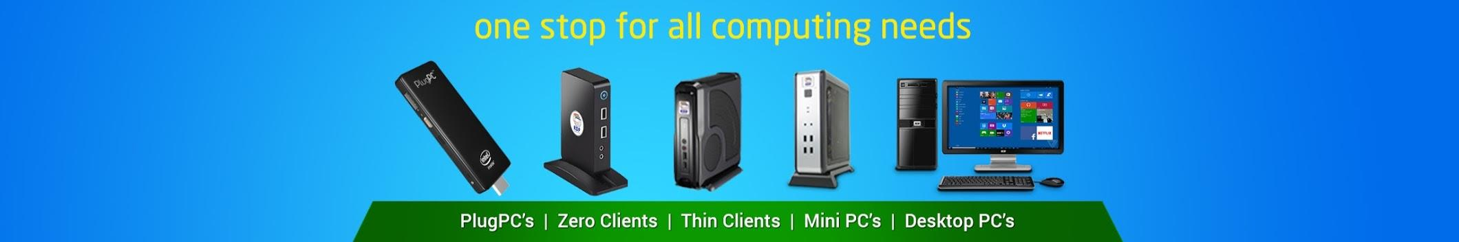 One Stop for all Computing Needs   RDP is the first among its peers with having wide range of products comprises of Thin Clients, Mini PC's, Desktop PC's & All in One PC's   Through RDP Cost Effective Computers users can get substantial benefits on Capex & Opex