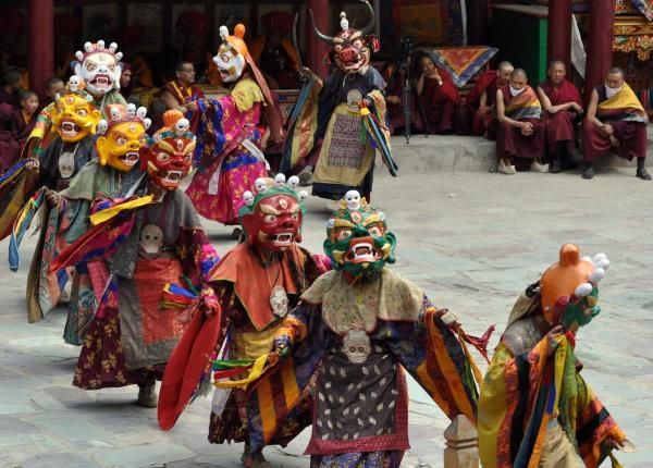 Hemis Festival Ladakh Explore the wealthy culture of Ladakh, throughout the grand festivities of Hemis festival. The festival falls around the tenth day's the Tibetan Lunar month. It's celebrated after every 12 years within the Tibetan year from the Monkey. The cultural entourage stands out within this Hemis Festival Ladakh. This variety festival of Ladakh is connected by having an interesting legend. It's thought that Guru Padmasambhava, the founding father of Tibetan Buddhism fought against with demon in order to save the neighborhood people. The festival works out to become energetic using the traditional music performed through the music performer. The festival also represents the victory of excellent within the evil.