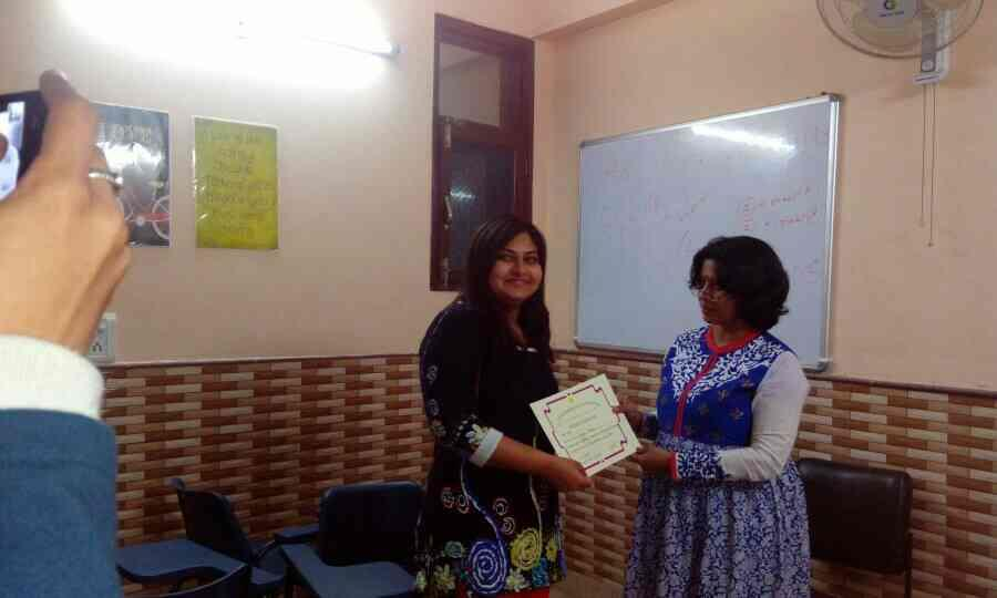 Whole team of shantiratn foundation certified as professional therapeutic counselor for deaddiction - by Shantiratn Foundation, New Delhi