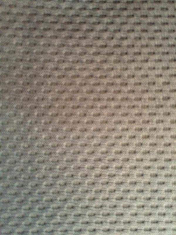 Honey combed poly knitted fabric for shoes, garments, bags etc