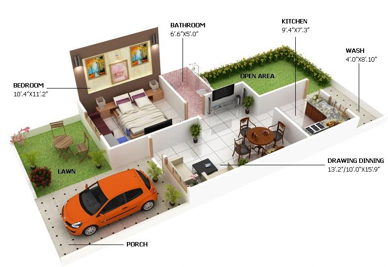 1bhk house for sale at coimbatore. - by rajdevelopersandpromoters, Nilgiris