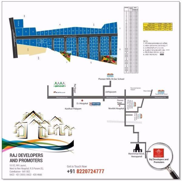 key plan - by rajdevelopersandpromoters, Nilgiris