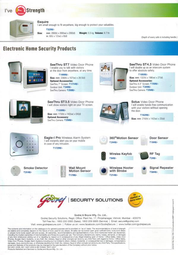 VIDEO DOOR PHONE- VDP - by Bee Kay Protection Systems, Jammu