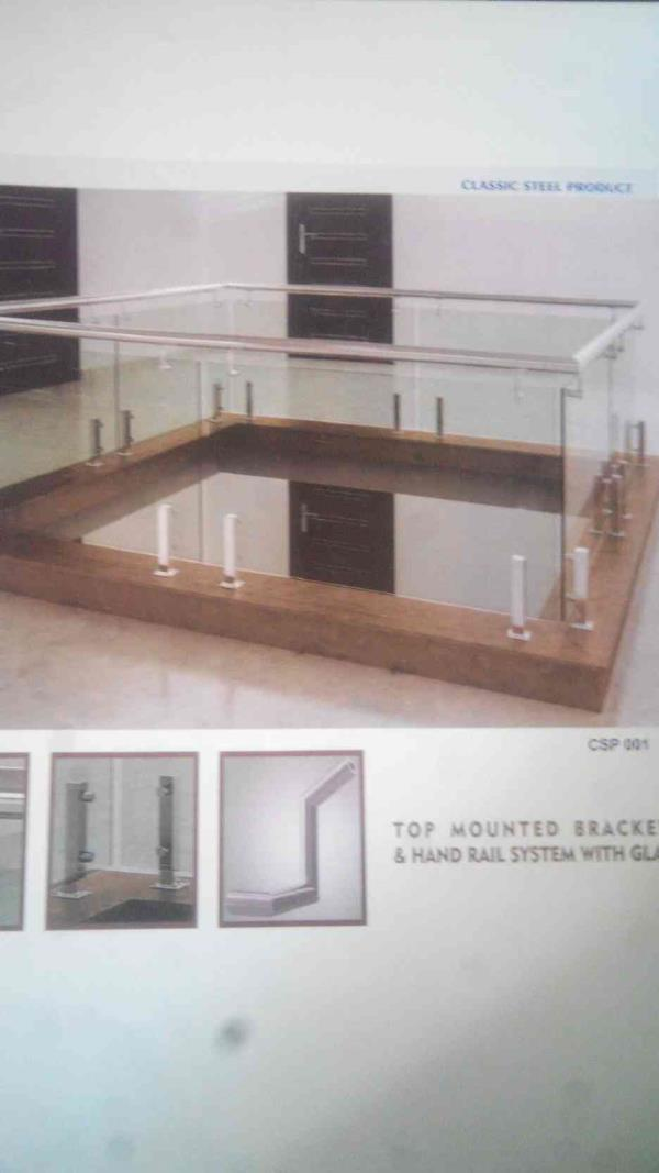 Top Mounted Railing Manufacturers in Rajkot
