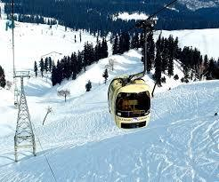 Cable cars in Jammu
