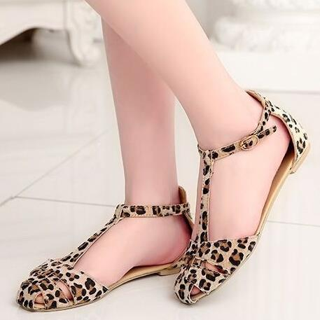 Buy This NEW Sexy leopard sandal at only 1000 /-. We are providing best affordable shoes for women. Visit our store to get best discount on Ankle Boots, Espadrilles, Flat sandals.