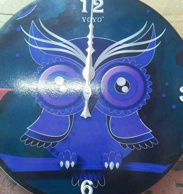 our latest creation of yoyo wall clocks . we are leading manufacturer of laser crafts in India.  our product will be live on all online portals soon with large variety of laser crafts in India. Beautiful owl clock with modern colour combination .