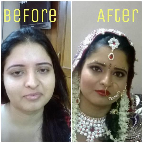 "HOW CAN BE YOUR MAKEOVER ????  CALL NOW.......    8860092180  ........  JAMNIK""S MAKEOVER.......  - by Jamniksmakeover@8860092180, Delhi"