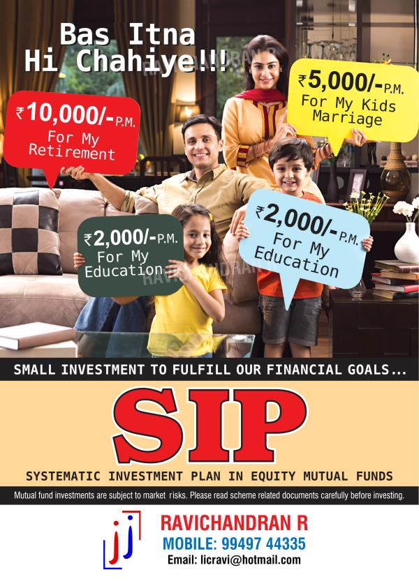 SIP - by Ravichandran R, Secunderabad