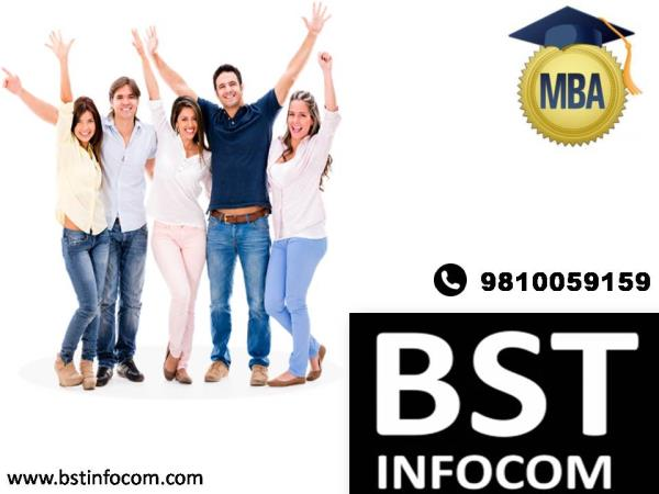 MBA In Delhi  What does an MBA teach us; well an MBA course answers the following questions besides many others?  How does Financial Markets work ?   How can I invest ? How does Marketing work ? What makes a product good ? What makes a bran - by BST INFOCOM - Call 9810059159, New Delhi