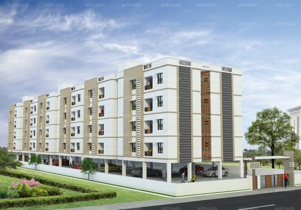 AISHWARYA HOMES - TRICHY, Cost Effective Residential Apartments