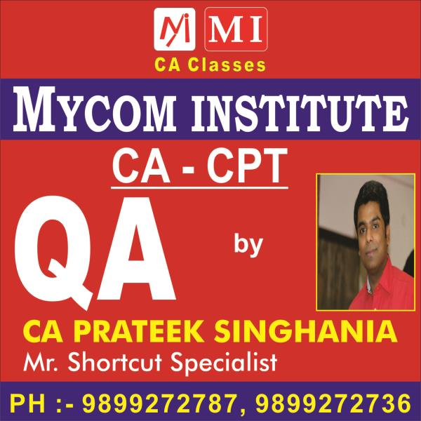 mycom institutes are provided best ca cpt team in laxmi nagar, we are provided best ca cpt team in laxmi nagar.  - by mycom institute, laxmi nagar
