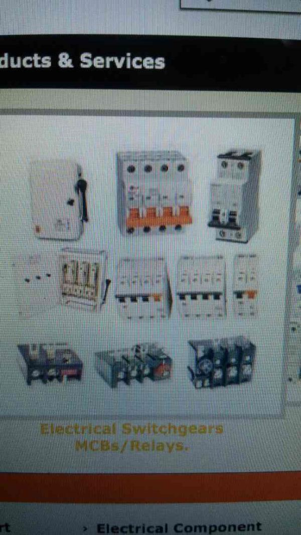 switchgears supplier in pune - by Sanjyot Enterprises , Pune