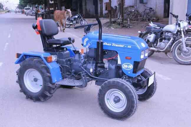 Agriculture MINI TRACTORS Manufacturers in Rajkot-Gujarat  Madhav-- DI-510 - by Madhav Agro Industries, Rajkot