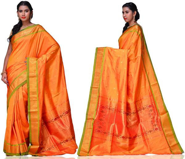 Price: - 16500 /-   Paithani Sarees, Paithani Sarees online shopping, Paithani Silk Saree With Matching Blouse Piece, Paithani Sarees Price. Sign up now for E-book you will be updated with latest collection of ethnic verities. For More Info - by Paithani, Hyderabad
