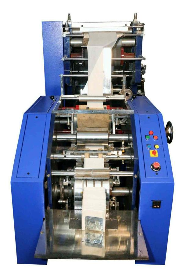 Paper Napkin machine manufacturers in delhi, maharashtra, hyderabad, Chen nai , up. The most efficient  and the only straight line machine in market.
