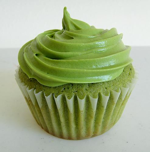 New flavours.... Green Tea cupcakes !! - by Cupcake House, Hyderabad