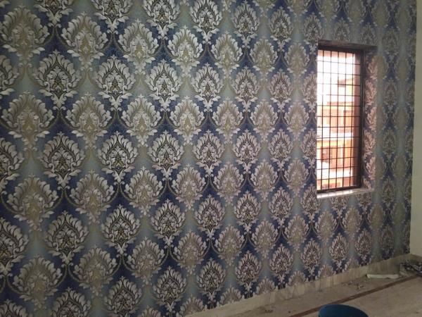 3d wallpaper in a recent completed site in gurgaon  Contact us to redefine your house interior  9999098195, 9899679679  INSIDE OUT  - by Inside Out 9555345366, Gurgaon