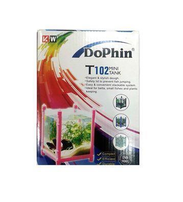 Dophin Mini Small Betta Fish Tank Aquarium T-102 MRP:-240/- For More Information call:- +917556538097, +919826903552.