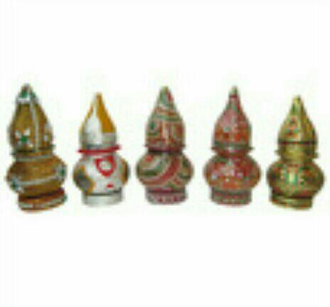 WEDDING SAMIYA KALASH available at SAINATH HANDICRAFT -RAJKOT , GUJARAT , INDIA. - by Sainath Handicraft, Rajkot