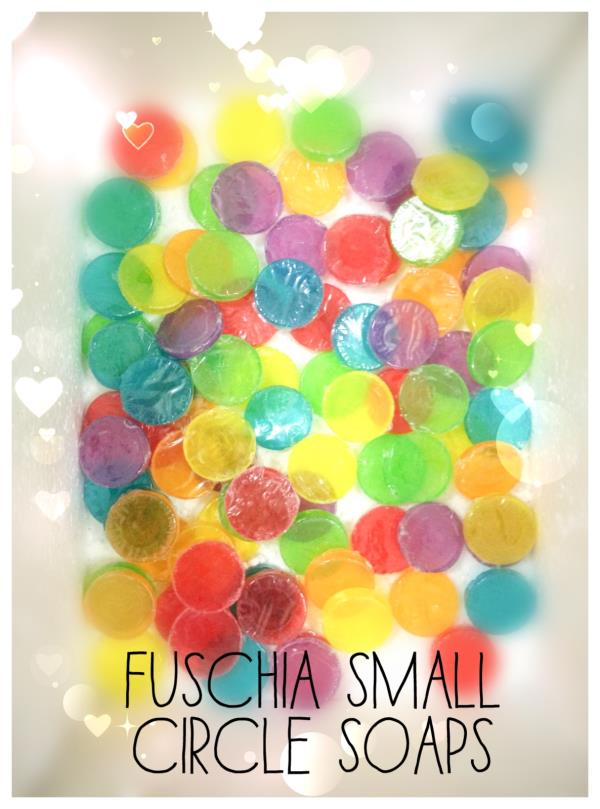 Fuschia Small Soaps could be your perfect travel companions.  - by Fuschia By Vkare, Delhi