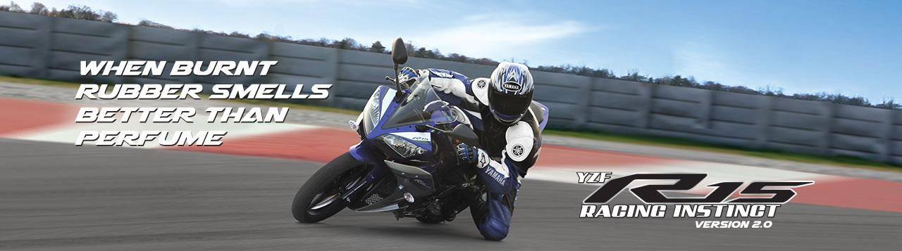 YZF R15 - Racing Instinct Racing Instinct. - Passing on the