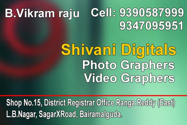 we under take all video and photography contracts - by Shivani Digital Photo and Video Graphs, Hyderabad