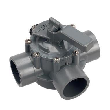 The purpose of a 3-way control valve is to shut off water flow in one pipe while opening water flow in another pipe, to mix water from two different pipes into one pipe, or to separate water from one pipe into two different pipes @ Ezzi Enterprises.