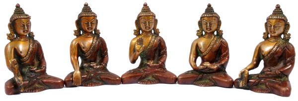 Five types of Buddha set  2000  Rs
