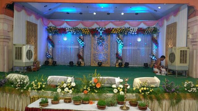 Stage Decoration in Trichy - by SUBAM Events, Trichy