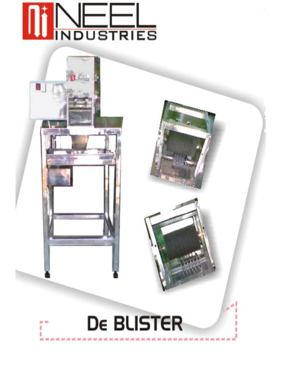 Our De Blister Machine - by Neel Industries, Ahmedabad