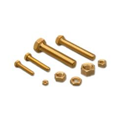 We have wide ranges of Brass Nut Bolt in rajkot. - by Angel Enterprise, Rajkot