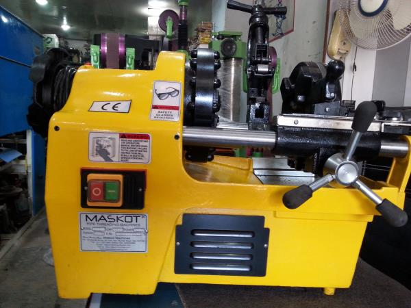 ing Machines in Delhilooking for good quality Electric Pipe Threading Machines in Delhi & Ncr check for MASKOT  Pipe Threading Machines with on site warantee for 3 months , easy payment , EMI options available  , light duty aluminium  casted machinescontact MASCOT MACHINES 67 DOUBLE STOREY 1ST FLOOR NEW RAJINDER NAGAR NEW DELHI-60 9810137375