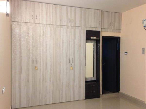 Wardrobe with dressing unit - by Inhouse Xpressions, Tiruchirappalli