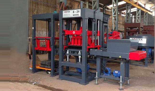 We provide flyash brick making machine for construction industries. Our machine is cost effective and best qualitative provider. we provide after sales service across india .  www.mortekmachinery.com - by Mortek Machinery Pvt. Ltd., Ahmedabad