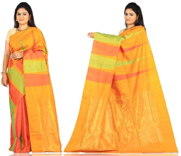 Price: - 9500/-   Uppada presents new collection of uppada sarees, uppada cotton silk sarees, uppada silk sarees, uppada silk sarees. Sign up now for E-book you will be updated with latest collection of ethnic verities. For More Info Click  - by Paithani, Hyderabad