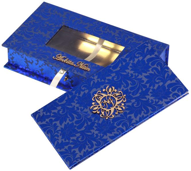 Modern Wedding Invitation Cards for you. Classy in look and feel, their designs are a drift from the usual invites. Usually picked for lavish weddings, they come in a wide range. So, you can always consider picking these up from our Exclusive store in Delhi.