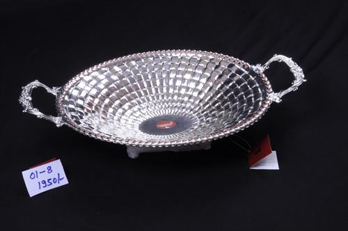 white metal tray - by Sambhav Products, Bengaluru