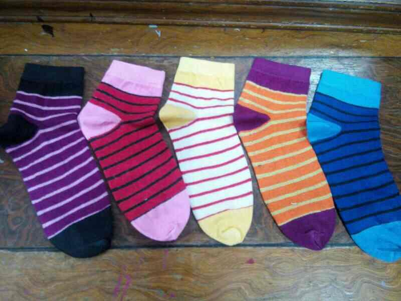 We are socks manufacture in gujarat.  - by SV FOOTCARE, Ahmedabad