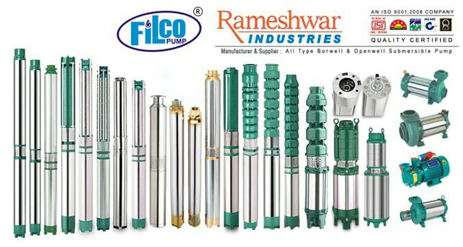 All Type Of Submersible pump Manufacturer in Rajkot-Gujarat - by Rameshwar Industries, Rajkot