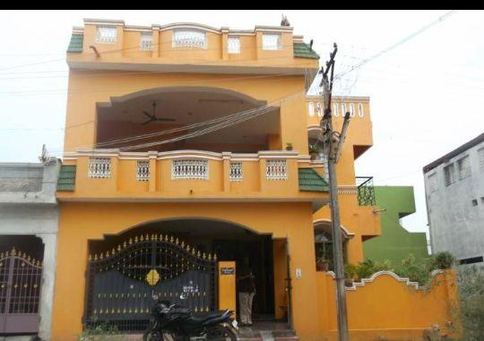 Our completed project at Srirangam Trichy AshokKumar House  - by Inbam Construction 9445778285, Trichy