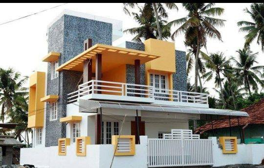 Our completed project at LAKSHMI NAGAR at Trichy for RAMESH sir house  - by Inbam Construction 9445778285, Trichy