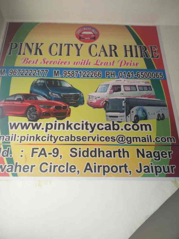 Car hire services in Jaipur