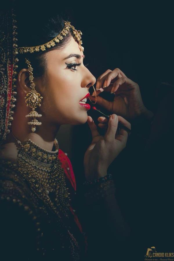 Candid Kliks Wedding photography   Candid Kliks specialises in capturing bridal make up shots in the most creative way. Available for assignments in Delhi / NCR and all over India, contact now for best deals - by Candid Kliks - Wedding Photography, New Delhi