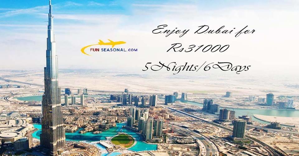 Best deal for Dubai packages at just Rs. 31000. Visit Dubai for a vacation with family and friends since its the best time to visit Dubai. Dubai, a city in U.A.E is famous for its luxury shopping and a bustling night life. You can visit Bur - by Cheap travel packages @9582922405, Faridabad
