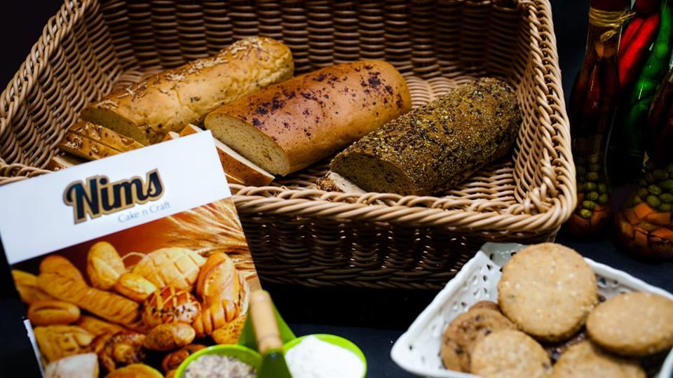 Delicious and Healthy range of Nims Breads to choose from- Plain, Wheat, Multigrain, Focaccia, Burnt Garlic, Cheese Masala. these Freshly made Breads will be available online and delivered at your doorstep very soon. to place an Order http: - by Nim's Cake & Craft, Pune
